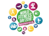 Logo World Fitness Day, Kunde von Textile One.