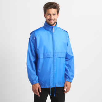 B&C BCJU800 Basic Windbreaker Herren bei Textil One bedrucken