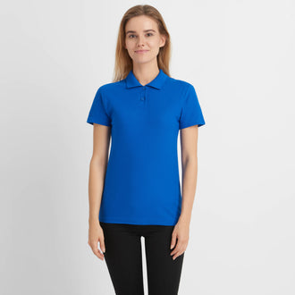 Basic Poloshirt Damen