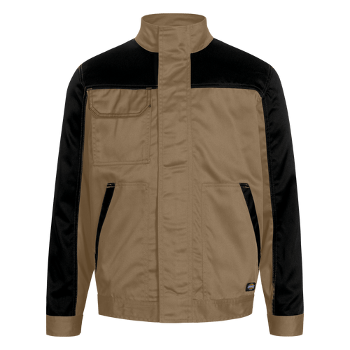double-khaki-black