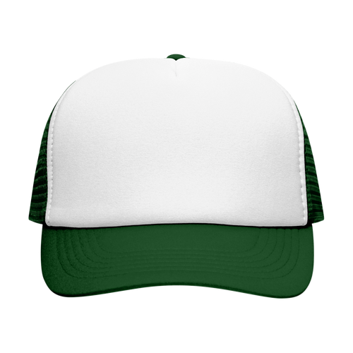 double-white-dark-green