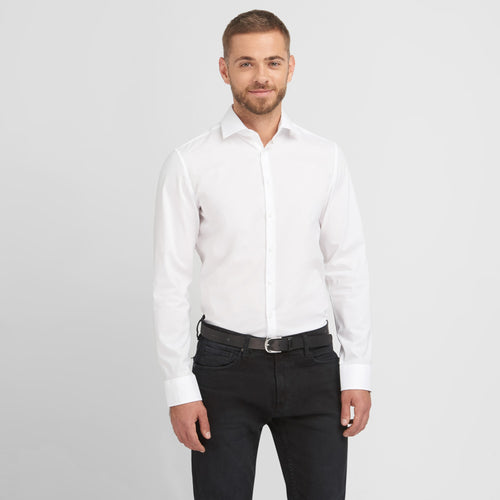 Seidensticker SN675198 Deluxe non-iron Hemd Slim Fit bei Textil One besticken