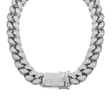 "SD 16"" Cuban Links Chain Necklace"