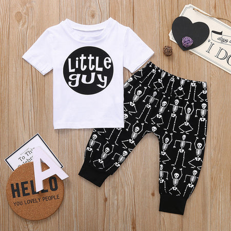 Little Guy Tops and Skull Pants