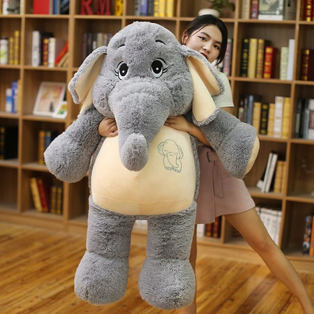 Big Size Plush Elephant