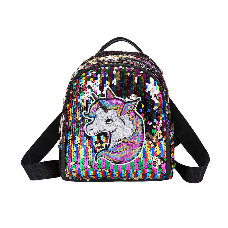 Unicorn Sequin Mini Backpack