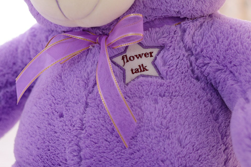 Lavender LED Teddy Bear
