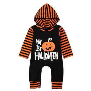 My 1st Halloween Rompers
