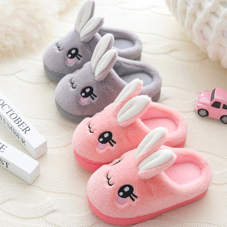 Cute Bunny Plush Slippers