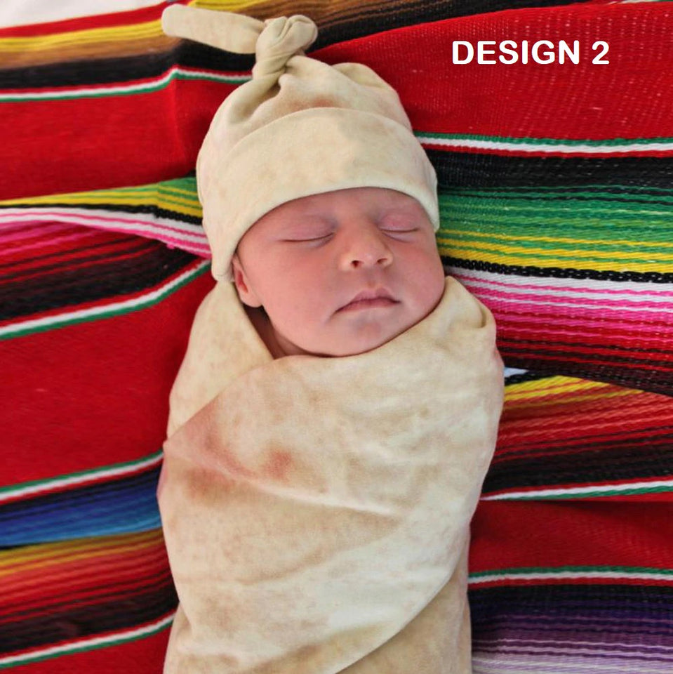Tortilla Blanket for Baby and Adult