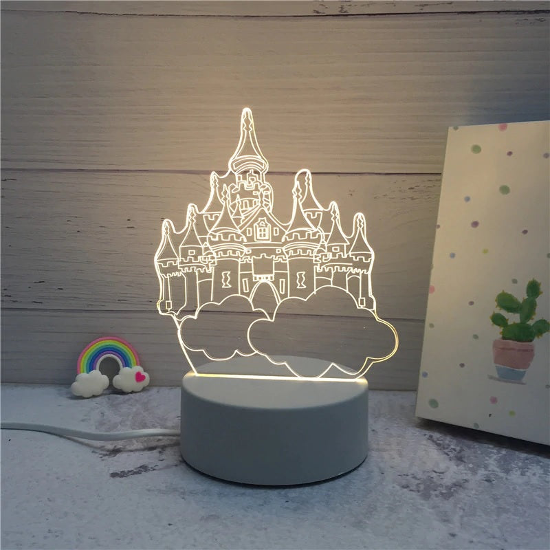 Creative 3D LED Lamp