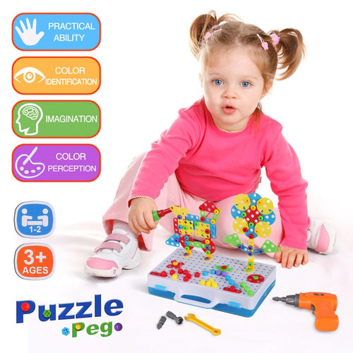Creative Puzzle Toy Set