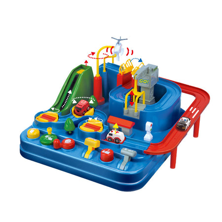 Rescue City Car Adventure Toys