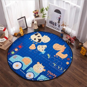 Multi-function Play Mat Toy Storage Bag