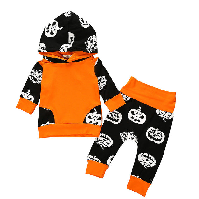 Pumpkin Hoodies and Pants