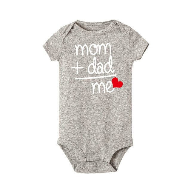 Mom + Dad Infant Romper Suit