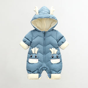 Kids Waterproof Winter Jumpsuit