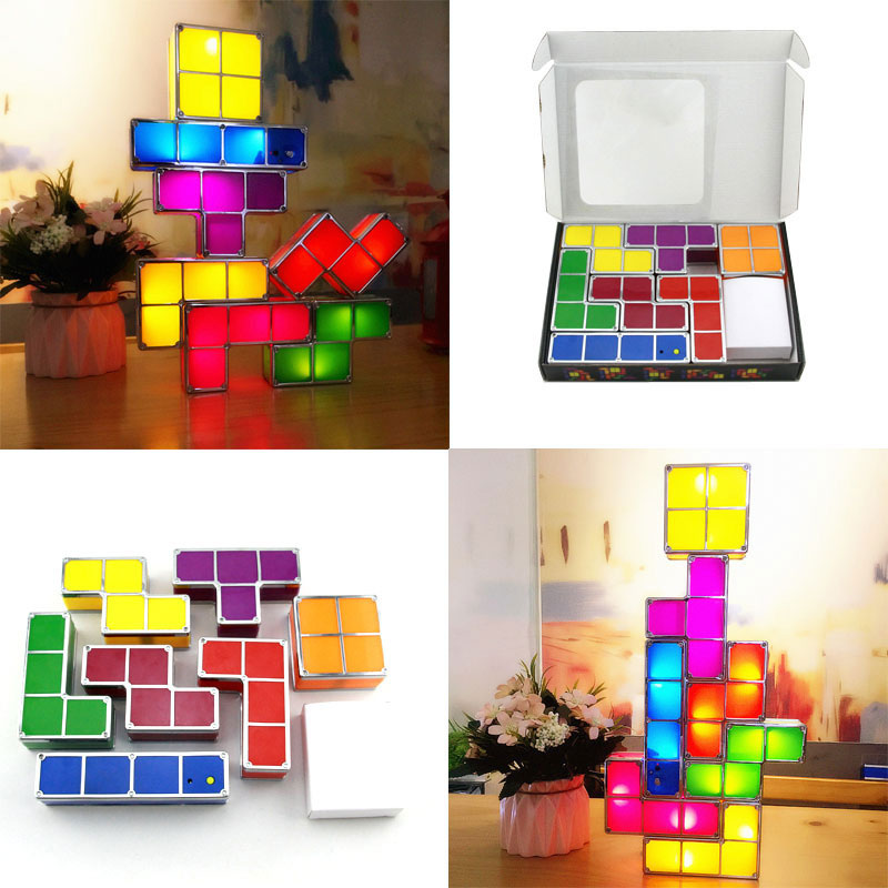Retro Puzzle Game LED Light