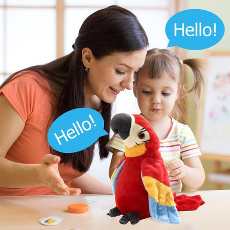 Talking Birds Plush Toys