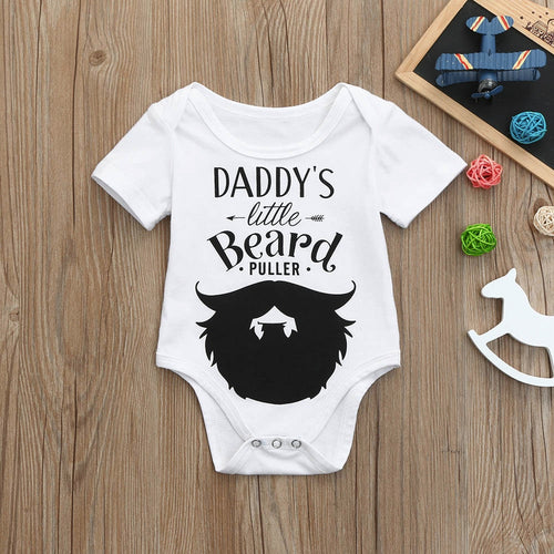 Daddy's Little Beard Puller Romper