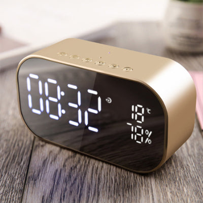 Multi-function LED Alarm Clock