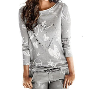 Women Heart & love Shirt