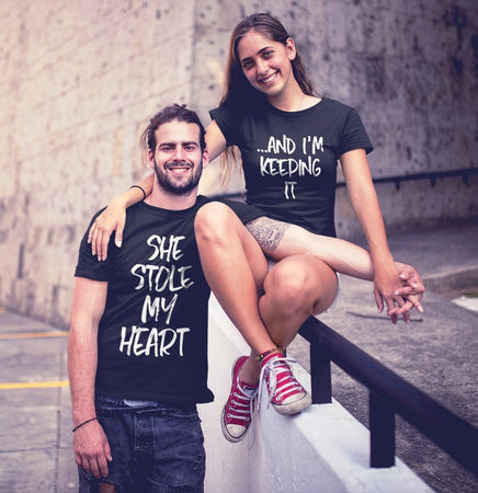She Stole My Heart, And I'm Keeping It T-Shirt