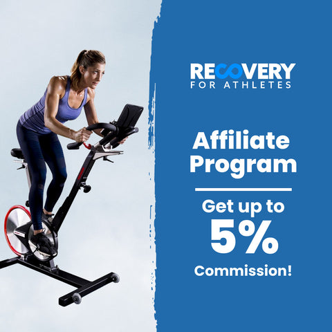 Recovery for athletes affiliate program graphic