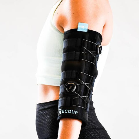 Recoup Cryosleeve Left Arm Standing
