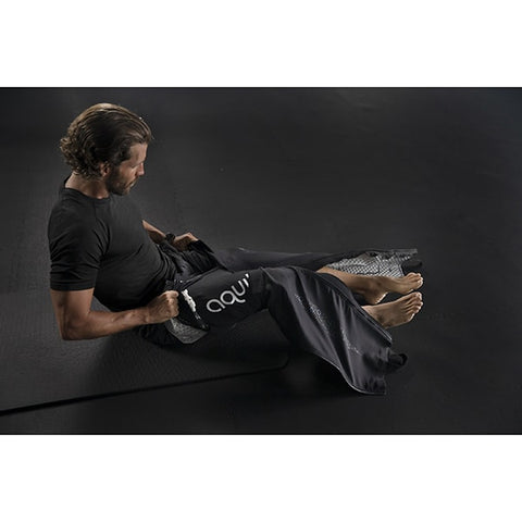 Aquilo Sports Cryo-Compression Recovery Pants With Model