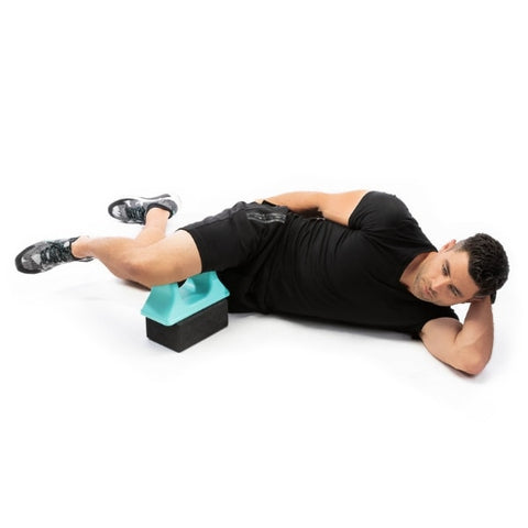 Pso-Rite Psoas Muscle Release and Self Massage Tool use position 9