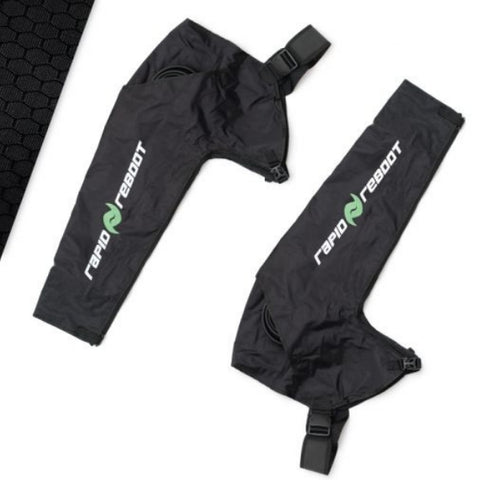 Rapid Reboot Full Body Compression Boot Recovery Package arm attachments