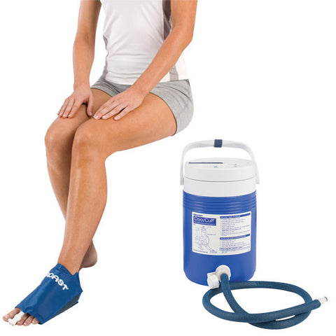 AirCast CryoCuff Cold Compression System foot