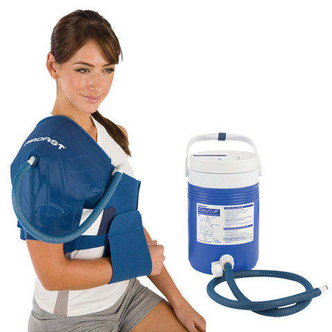AirCast CryoCuff Cold Compression System shoulder