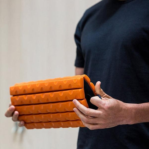 Brazyn Morph Collapsible Foam Roller closed