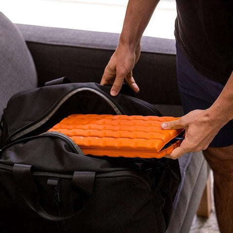 Brazyn Morph Collapsible Foam Roller in bag