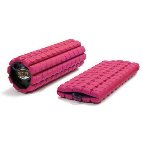 Brazyn Morph Collapsible Foam Roller pink nubbed