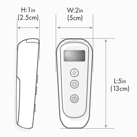 Chili Technology chiliPAD Sleep System remote