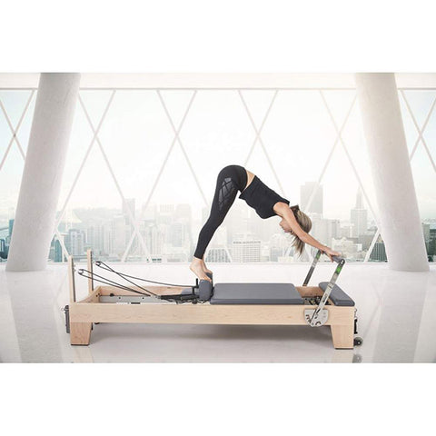 Elina Pilates Elite Wood Reformer with Tower