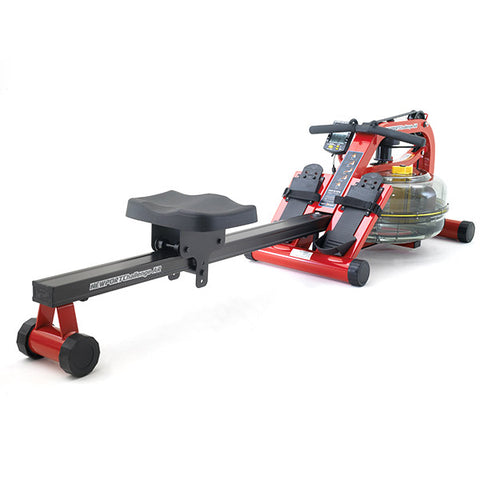 First Degree Fitness Newport AR Plus Rowing Machine Red