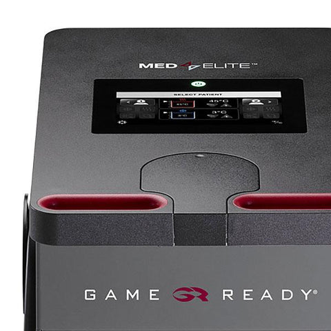 Game Ready Med4 Elite Multi Modality Contrast & Compression Therapy Unit display controls