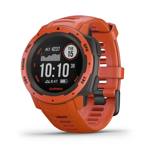 Garmin Instinct Smartwatch flame red