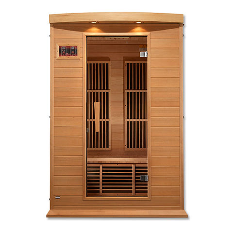 Golden Designs Maxxus Low EMF FAR Infrared Sauna