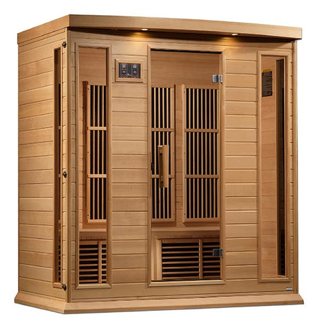 "Golden Designs Maxxus ""Montilemar Edition"" 4 Person Near Zero EMF FAR Infrared Sauna"