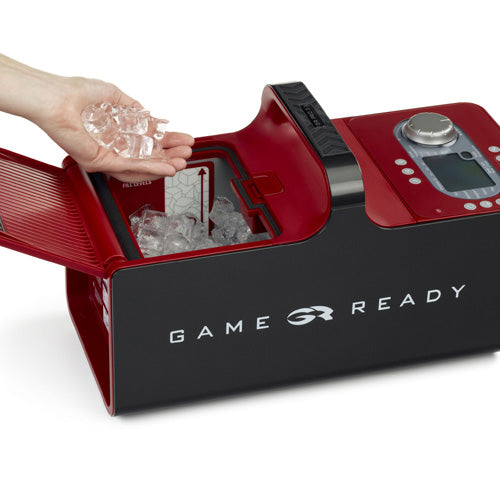 Game Ready Full Leg Boot Recovery Package Boots Ice Machine