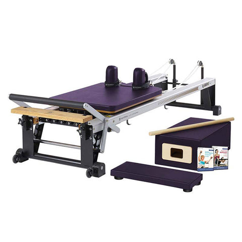 Merrithew Pilates At Home Pro Reformer Package concord purple