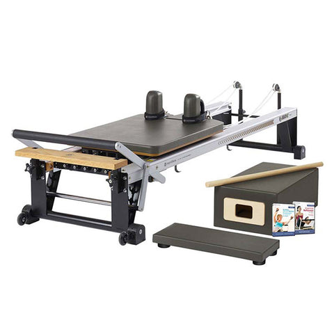 Merrithew Pilates At Home Pro Reformer Package gunmetal gray