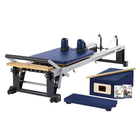Merrithew Pilates At Home Pro Reformer Package royal blue