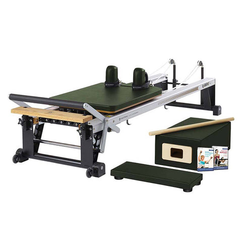 Merrithew Pilates At Home Pro Reformer Package yew green