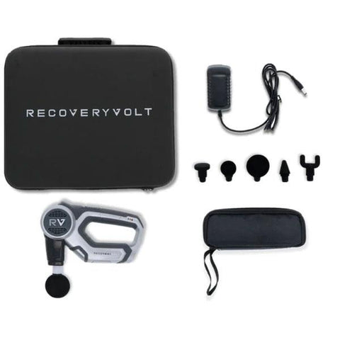 RecoveryVolt Percussion Massager Included Parts